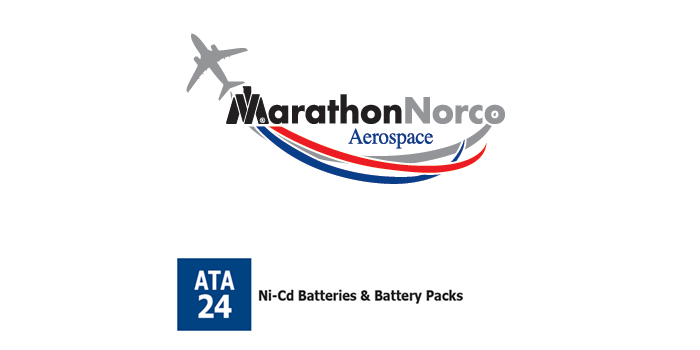 MarathonNorco Battery for B737 SP-747 P/N 30874-001